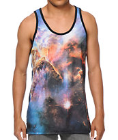 Imaginary Foundation Nebula Sublimated Tank Top
