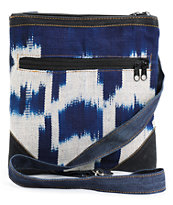 Baja Bags Indigo & White Crossbody Purse