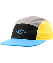 Empyre Pressure Black, Yellow, & Blue  5 Panel Hat