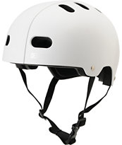 Destroyer DH1 Matte White Skateboard Helmet