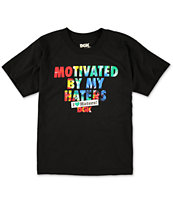 DGK Boys Motivated Black Tee Shirt
