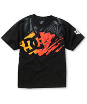 DC Boys KB Stroke Star Black Tee Shirt