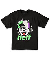 Neff Boys Jamie Black Tee Shirt