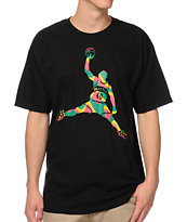 Casual Industrees Reignman Kam Black Tee Shirt