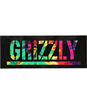 Grizzly T Puds Stamp Sticker