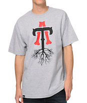 Teruo TA Roots Grey Tee Shirt