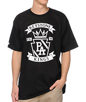 Elsewear PA K.Stone Kings Black Tee Shirt