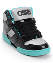 Osiris Kids NYC 83 Black, Gun & Sea Skate Shoe