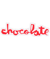 Chocolate Skateboards Chocolate Chunk Large Sticker