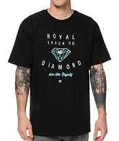 Royal x Diamond Black Tee