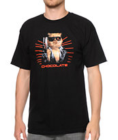 Chocolate Garvinator Black Tee Shirt