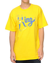 Casual Industrees The King Gold Tee Shirt