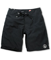 Volcom 38ER Solid Black 21 Board Shorts