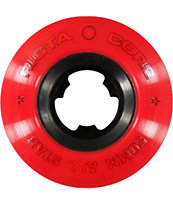 Ricta All Star Red & Black 50mm Skateboard Wheels