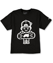 Trukfit Boys Lil Tommy Core Black Tee Shirt