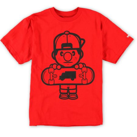 Trukfit Boys Lil Tommy Core Red Tee Shirt