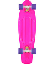 Penny Skateboards Pink, Purple, & White ute 27 Nickel Cruiser Complete