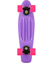 Penny Skateboard Purple, Pink, & Black 22 Cruiser Complete