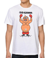 So-Gnar King Hippo White Tee Shirt