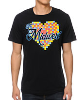 So-Gnar Love The Midwest Black Tee Shirt