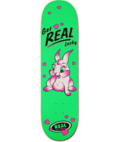 Real Sunburn Get Real Lucky 8.25 Skateboard Deck