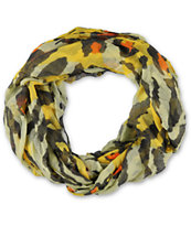 D&Y Abstract Cheetah Tiger Print Infinity Scarf