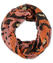 D&Y Abstract Cheeta Tiger Pink Infinity Scarf