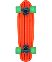 Globe Bantam 24 Clear Orange Cruiser Complete Skateboard