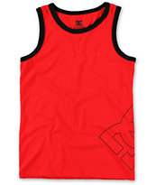 DC Boys County Red Tank Top