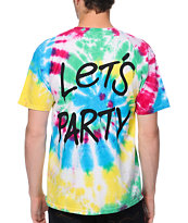 Loser Machine Lets Party Tie Dye Tee Shirt