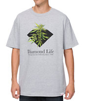 Diamond Supply Homegrown Heather Grey Tee Shirt