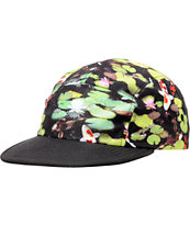 Chuck Originals Koi Pond Printed Camper 5 Panel Hat