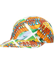 Chuck Originals Cali Postcard Printed Camper 5 Panel Hat
