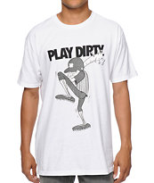 Undefeated Dirty Baseball White Tee Shirt