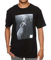 Undefeated Victory Black Tee Shirt