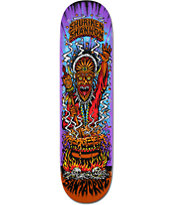 Santa Cruz Shuriken Witch Doctor Powerply 8.0 Skateboard Deck