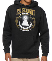 REBEL8 Root Of All Evil Heather Charcoal Pullover Hoodie