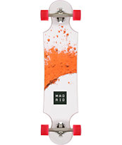 Madrid Maniac Pulver Red Drop Through Longboard Complete