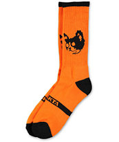Odd Future Orange Cat Crew Socks