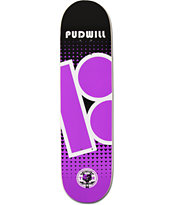 Plan B Pudwill Contest 8.0 Skateboard Deck
