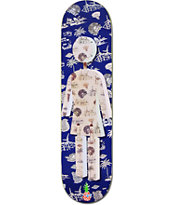 Girl x Zumiez Couch Tour 2013 Pineapple 8.0 Skateboard Deck