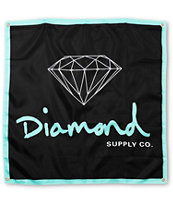 Diamond Supply OG Logo Black & Mint Banner