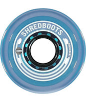 Gold Coast Shred Boot 70mm Blue Skateboard Wheels