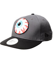Mishka Keep Watch Grey & Black Snapback Hat