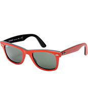 Ray-Ban Original Wayfarer Red & Black Sunglasses