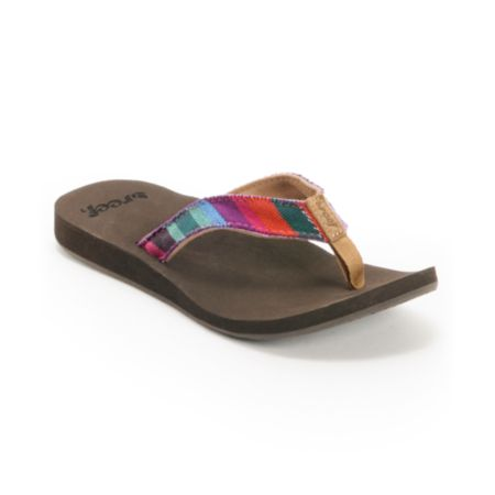 Reef Girls Guatemalan Love Dark Brown Sandals