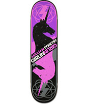 Mystery Jimmy Carlin Symetry 8.25 Skateboard Deck
