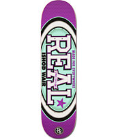 Real Ishod Ware Champion Oval R1 Construction 8.0 Skateboard Deck