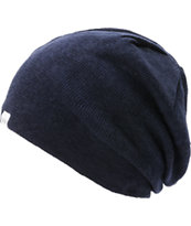 Coal Fields Navy Blue Slouchy Beanie