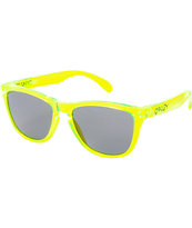 Oakley Frogskins Acid Green Sunglasses